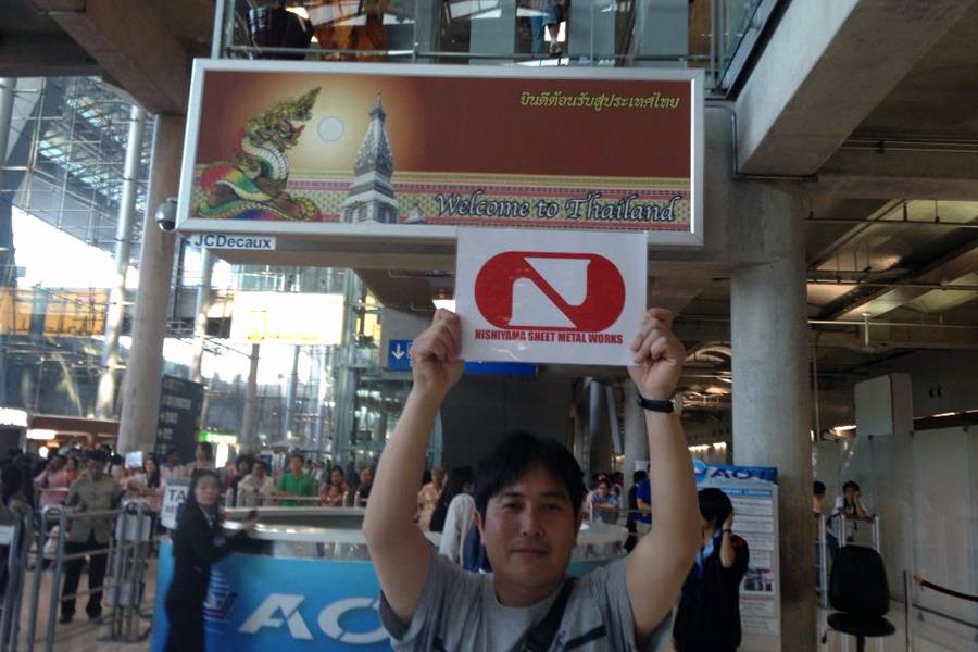タイにやって参りました。